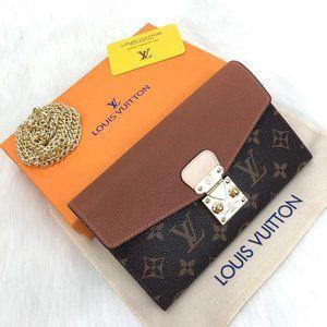 Louis Vuitton Pallas Wallet 19x13cm